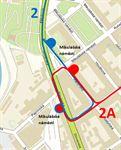 2 a 2A přestup Mikulášské náměstí