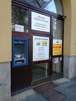 Bankomat ČS na Denisově nábřeží