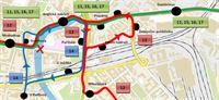 Uzavírka W. mostu - odklony trolejbusových linek
