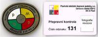 Odznak + průkaz