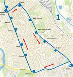 tramvaje Slovanská mapa
