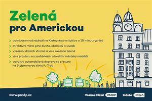 Zelená pro Americkou